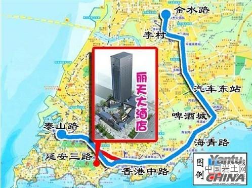 青岛市新市北区地图